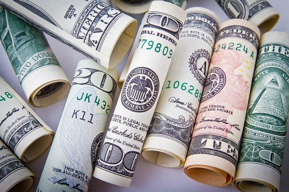 Vysoký obnos peněz
