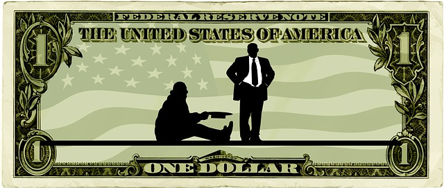 americka bankovka chudoba