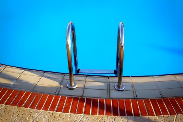 vlez do bazénu