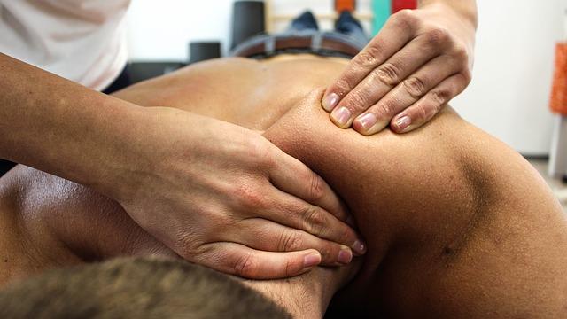fyziologie masáž