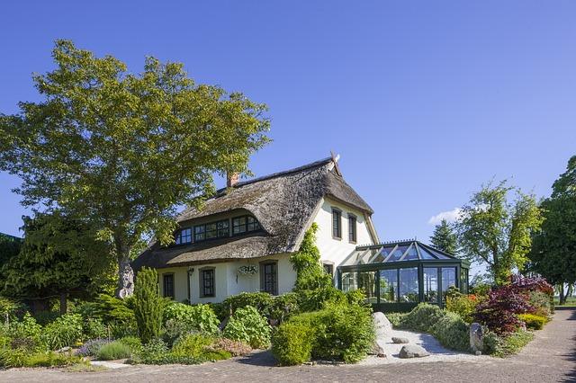 dům se zimní zahradou