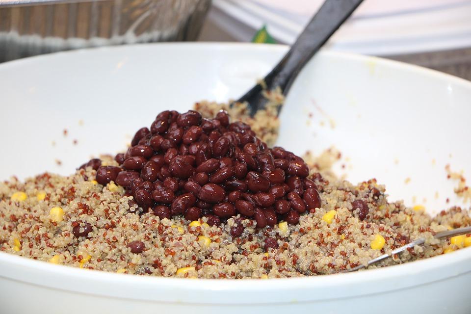 quinoa s fazolemi